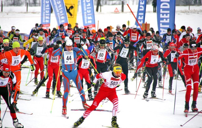 Start Skimarathon Saalfelden